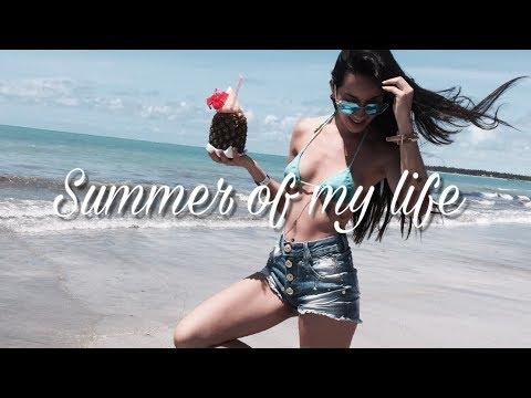 Minha rotina nas ferias - Praia, piscina em Maceió | Férias Brasil RELAX ☼  Verão da minha vida ☼