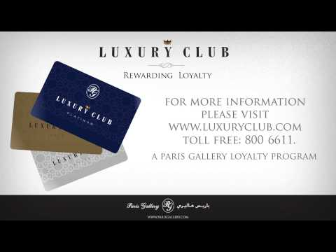 Paris Gallery launches Luxury Club