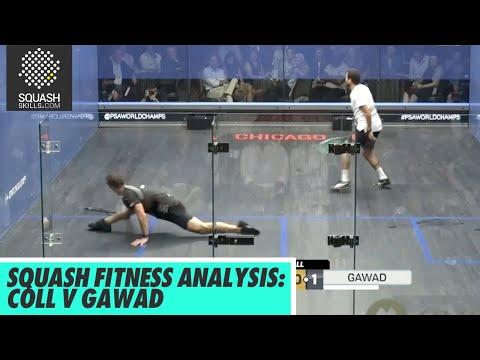 Squash Fitness Analysis: Paul Coll v Karim Abdel Gawad