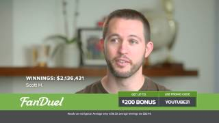 2015 FanDuel One-Week Fantasy Football Commercial