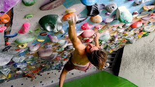 Boulder Session with Fabi the Young Gun ! by Mani the Monkey