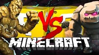 Minecraft: TITANS LUCKY BLOCK CHALLENGE   Chicken Fights!!