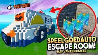 *MEGA* SPEELGOEDAUTO ESCAPE ROOM! - Fortnite Map van een kijker #40