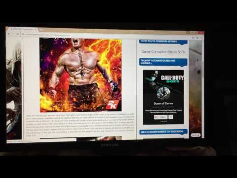 how to download wwe 2k17 in pc real and full game download and 100% guarnteee