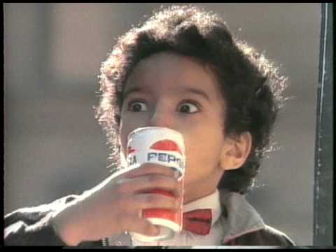 michael - Michael Jackson teams up with director Bob Giraldi in a Pepsi commerical for the 
