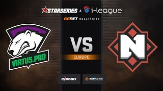 Virtus.pro vs Nemiga, map 2 mirage, StarSeries & i-League S7 GG.Bet EU Qualifier