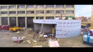 Laneway Construction Timelapse August 2015