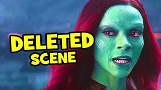 Video Avengers Infinity War DELETED SCENE Thanos & Gamora + Breakdown MP3, 3GP, MP4, WEBM, AVI, FLV Agustus 2018