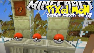 Minecraft | YesMen: Pixelmon | #3 POKE BEACH HOUSE