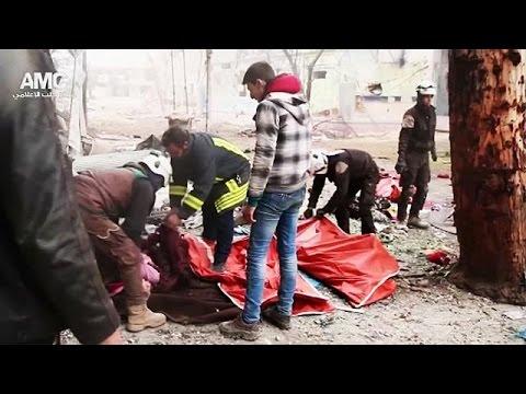 Μαζικές εκτελέσεις αμάχων στο ανατολικό Χαλέπι καταγγέλλει ο ΟΗΕ