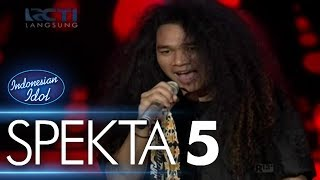 Video CHANDRA - CUKUP SITI NURBAYA (Dewa 19) - Spekta Show Top 10 - Indonesian Idol 2018 MP3, 3GP, MP4, WEBM, AVI, FLV November 2018