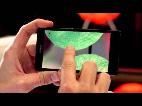 Xperia™ Z Display video