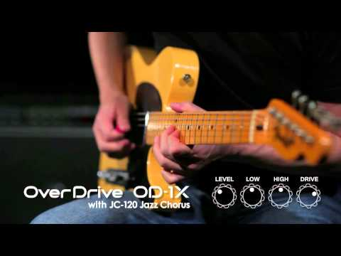 OD-1X Over Drive Demonstration [BOSS Sound Check]