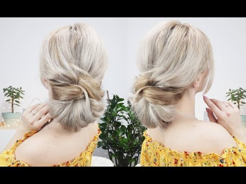 Braid hairstyles - LAZY EVERYDAY HAIRSTYLE QUICK AND EASY UPDO FOR LONG OR MEDIUM HAIR  Awesome Hairstyles