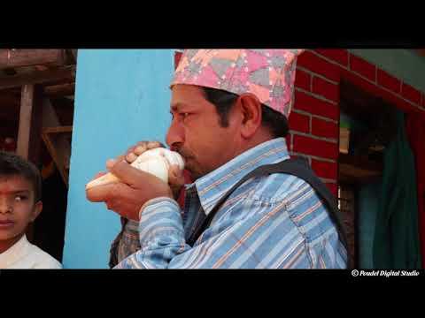 (लौ हेर्नुहोस एसरि बजाउनु पर्छ शंख || Wow Amazing Art Hindu ..80 sec)