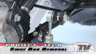 8. ATV Television - Removing the Rear SwayBar on Our King Quad 750