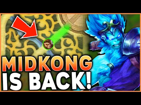 WUKONG MID IS MAKING A COMEBACK | HERE'S HOW YOU DO IT (#1 WUKONG) - League of Legends