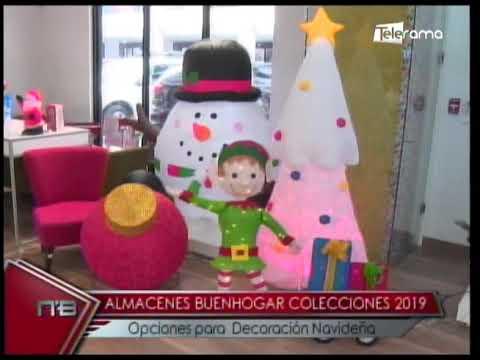 Almacenes Buenhogar colecciones 2019 opciones para decoración navideña