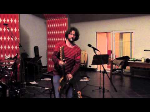 Sam Vloemans Band - recording the hard part