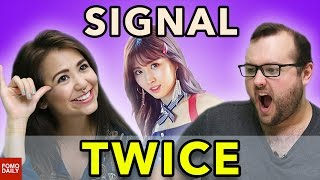 "Video TWICE ""SIGNAL"" • Fomo Daily Reacts MP3, 3GP, MP4, WEBM, AVI, FLV Oktober 2017"