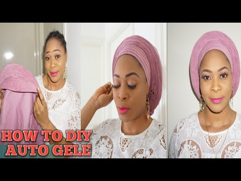 How To Sew Auto-gele