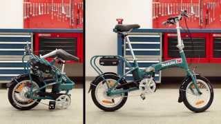 Taittopyörät testissä: Makita BBY180:n pakkaaminen (full hd)
