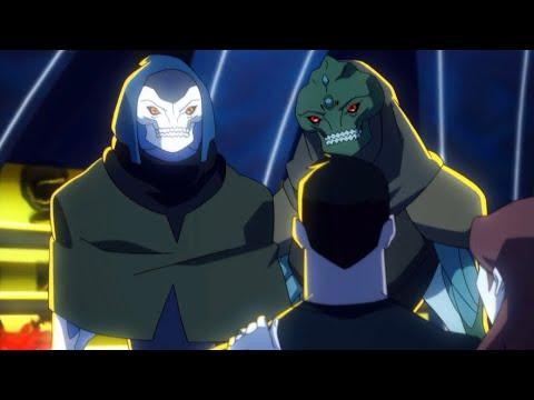 Young Justice Season 4 Phantoms Ep 1 Meghan's Parents