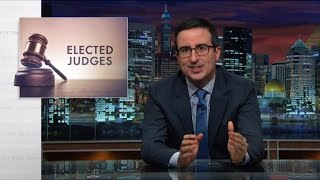 Video Elected Judges: Last Week Tonight with John Oliver (HBO) MP3, 3GP, MP4, WEBM, AVI, FLV Agustus 2019