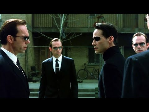 Neo vs Smith Clones [Part 1] | The Matrix Reloaded [Open Matte]