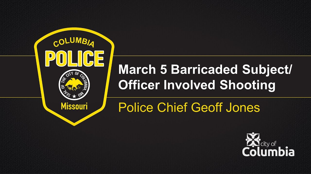 CPD Press Conference: March 5 Barricaded Subject/Officer Involved Shooting