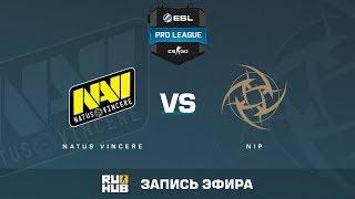 Natus Vincere vs NiP - ESL Pro League S6 EU - de_train [yXo, CrystalMay]