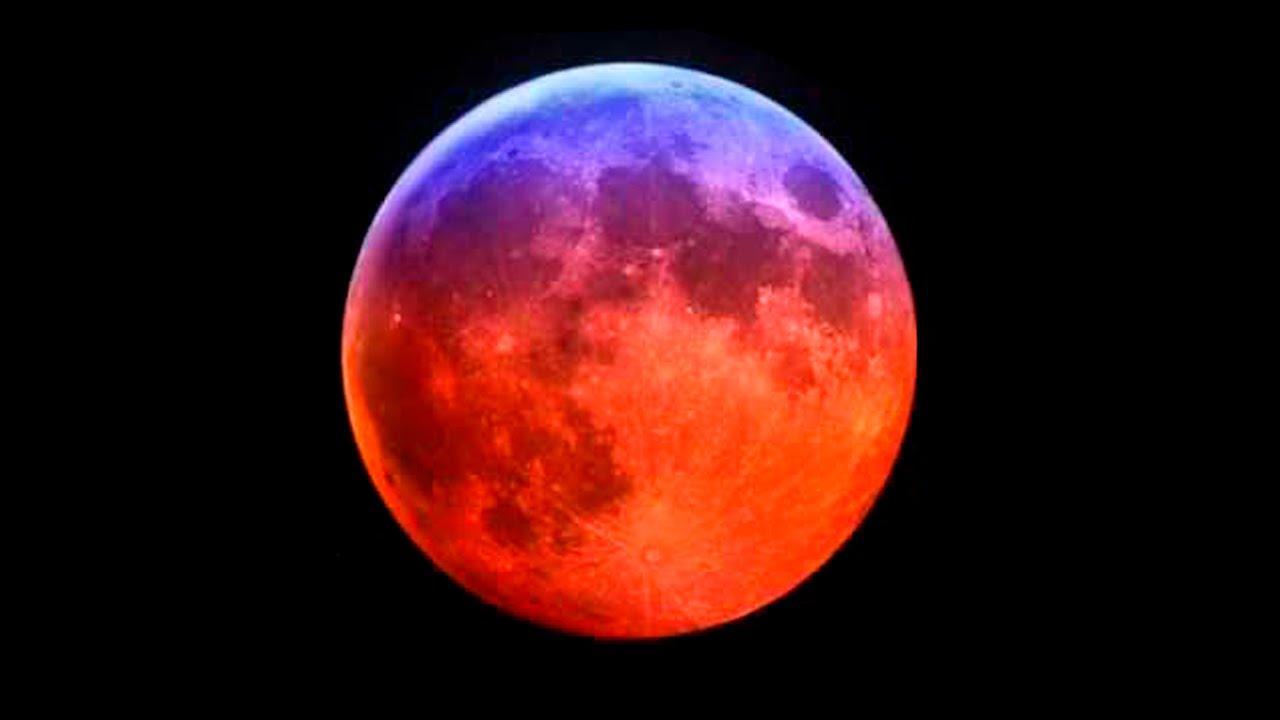 Смотреть онлайн Полное Лунное Затмение 28 сентября 2015 г. Гороскоп