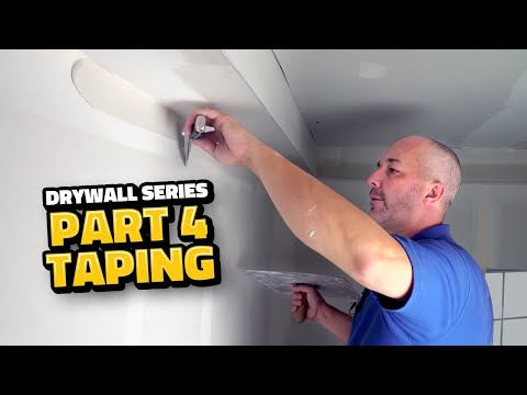 Drywall Taping Masterclass for Beginners!