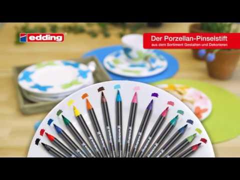 edding Porzellan Pinselstift e4200