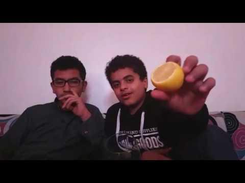 Video تحدي حجره ورقه مقص))مع العقبات