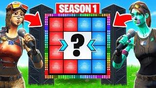 SEASON 1 TRIVIA CHALLENGE *NEW* Game Mode in Fortnite Battle Royale