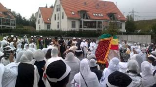 Wereb @ Meskel 2012 - St. Mary's Ethiopian Orthodox Church In Opfikon, Zurich, Switzerland