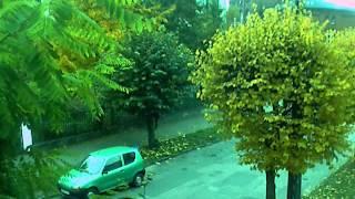 Deszczowa jesień w Nakle nad Notecią