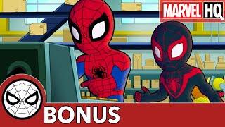 Spidey Remix with Miles! | Marvel Super Hero Adventures | BONUS CLIP