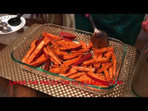 Lose weight - Easy 20 minute Sweet Potatoe Snack :: Geetha's Kitchen #10