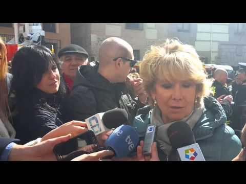 Esperanza Aguirre, sin pelos en la lengua