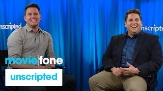 '22 Jump Street' Unscripted Interview | Moviefone