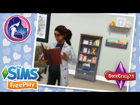 Uñas decoradas - Paquete de maternidad en AR   Ropa abrigada, librero y repisas  Los Sims Freeplay