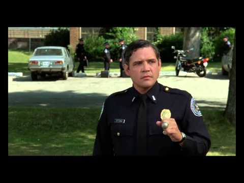 Police Academy: The horse.