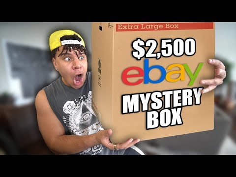 What I Found Inside This 2,500 Ebay MYSTERY BOX Will Shock You..
