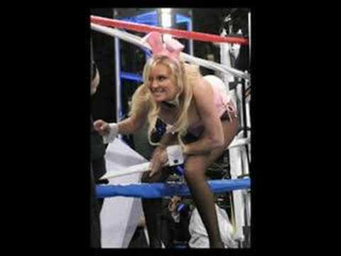 Chicas Playboy en el ring