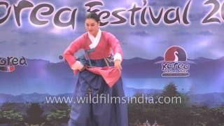 Jeollabuk-do South Korea  city photos gallery : Folk dance of Jeollabuk-do, South Korea