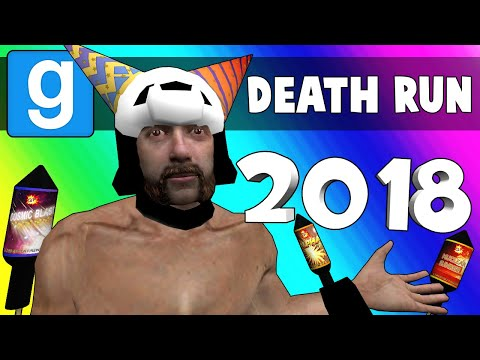 Gmod Death Run Funny Moments - 2018 Sports Bar Celebration! (Garry's Mod) (видео)