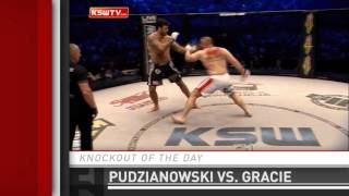 Download Lagu Knockout of the Day: Mariusz Pudzianowski Clubs Rolles Gracie at KSW 31 Mp3