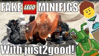 Video NASTY FAKE LEGO MINFIGURES! - just2good Plays A Guessing Game! MP3, 3GP, MP4, WEBM, AVI, FLV Mei 2019